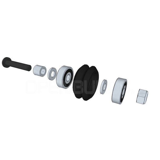 Delrin V Wheel™ Kit