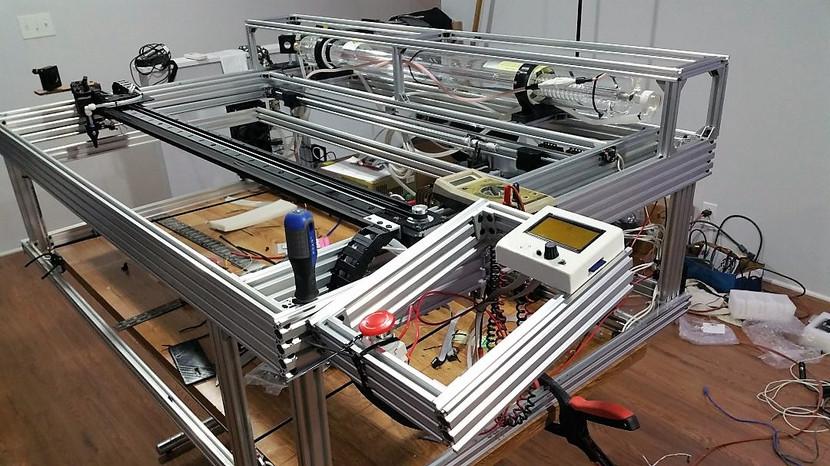 80 Watt Laser Cutter