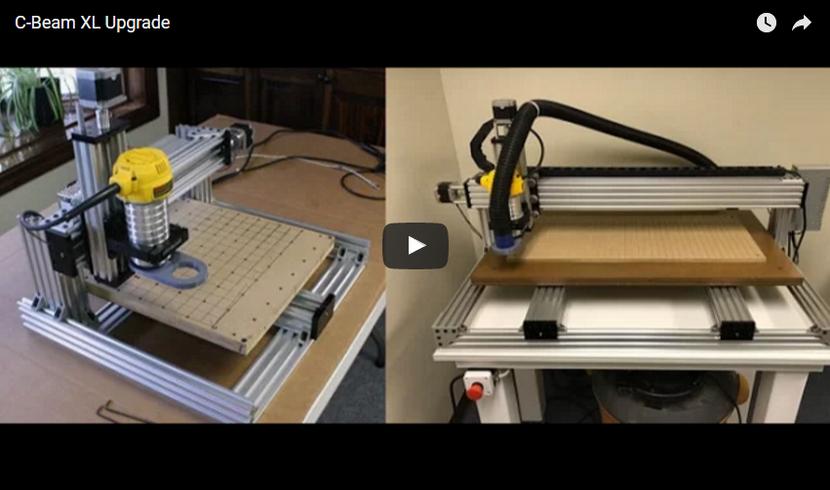 VIDEO: Upgrade your C-Beam machine to a C-Beam XLarge
