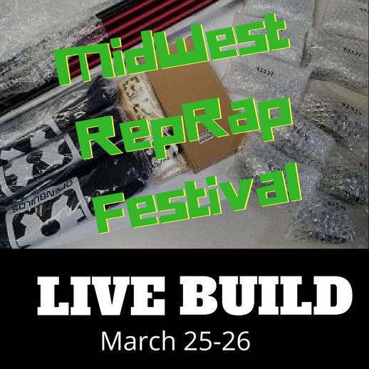 V-Slot featured at LIVE D-Bot Build #MRRF2017