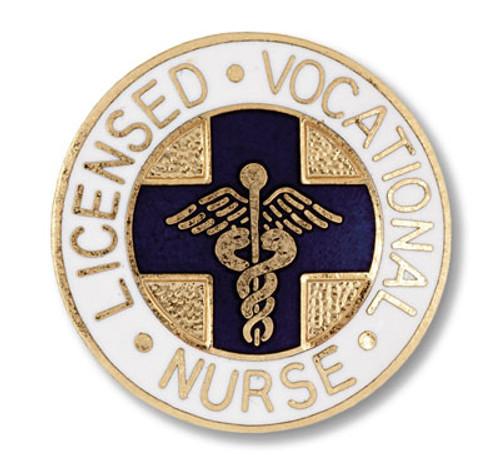 LVN Licensed Vocational Nurse Emblem Pin