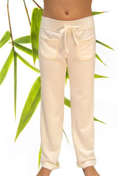 Girls Bamboo Organic Cotton Lounge Pants dyeable