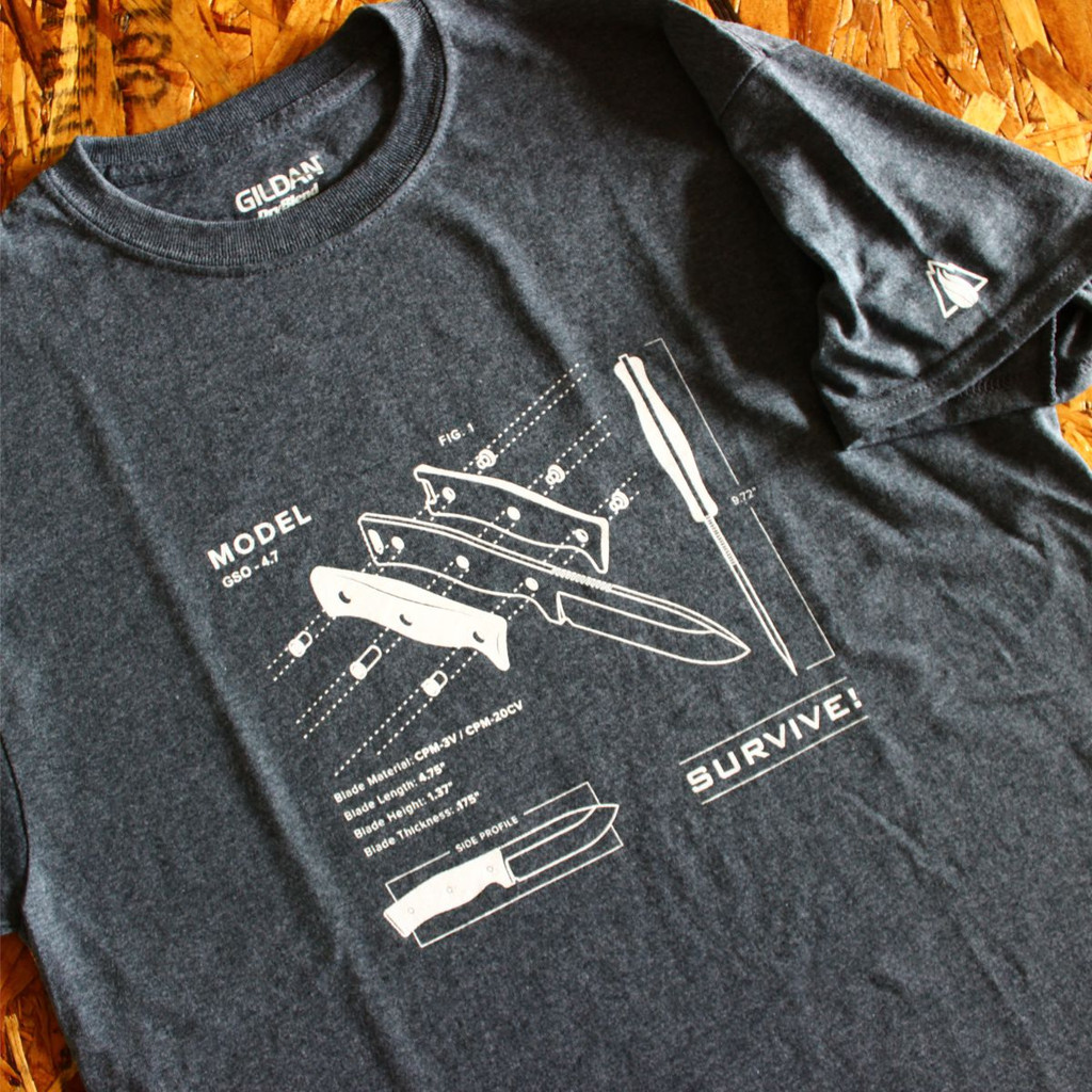 GSO-4.7 Blueprint Tee