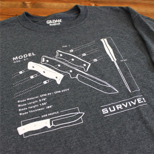 GSO-5.1 Blueprint Tee
