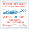 1966 - American Legion Nationals - Vol. 1