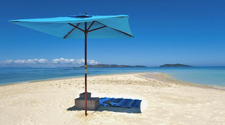 The Beach on Fiji
