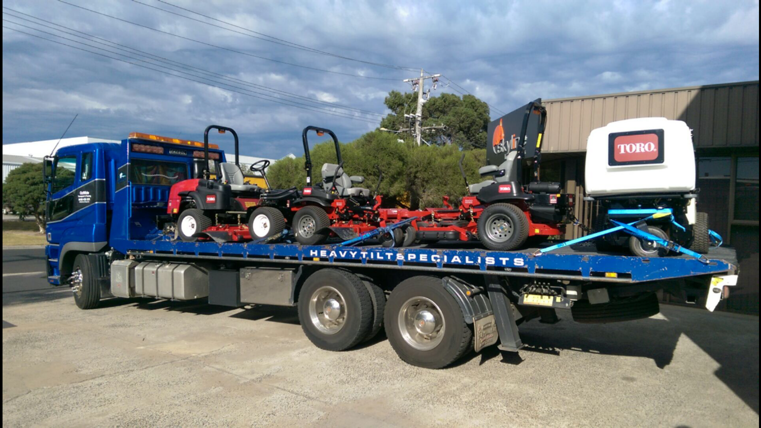 OzWide Transport and Towing: Our towing partners!