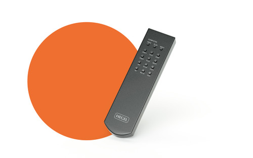 Hegel RC8 Remote Control for H160, Röst, H360, HD30,P20 and P30