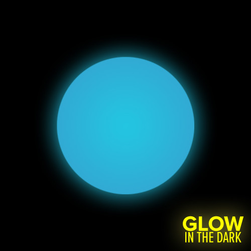 Glow in the Dark - Aqua (1-Star)