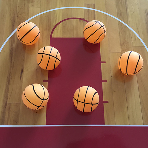 Basketball Ping Pong Ball - 1 Star