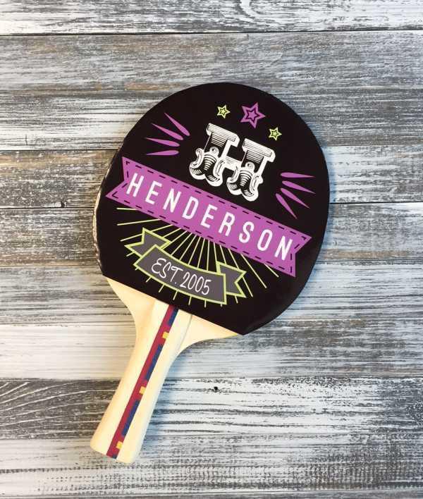 Custom Ping Pong Paddles