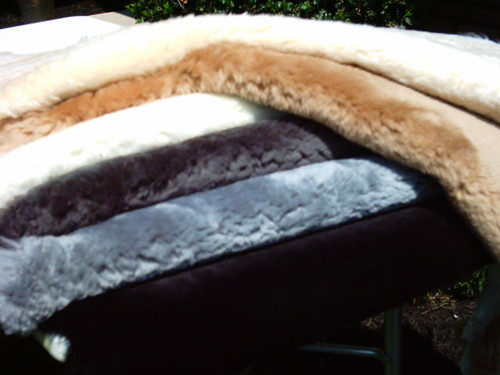 Short Haired Sheepskin Hide