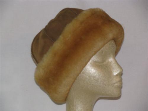 Sheepskin Round Hat