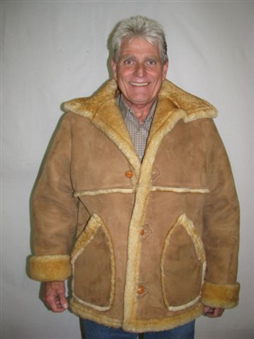 Marlboro Sheepskin Coat front