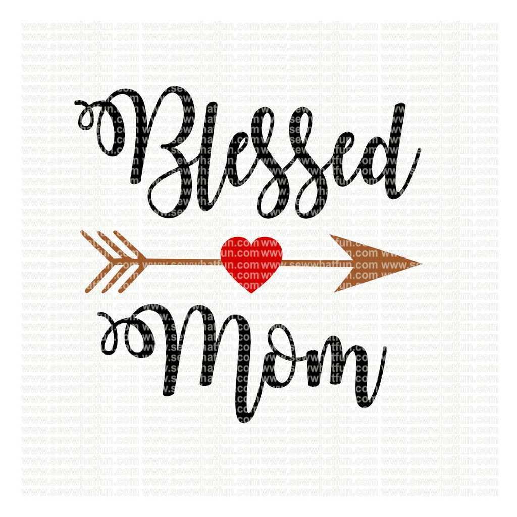 Blessed Mom SVG