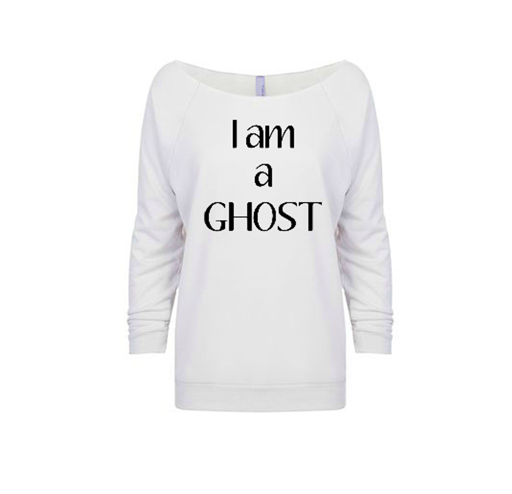 I am a Ghost French Terry Raglan