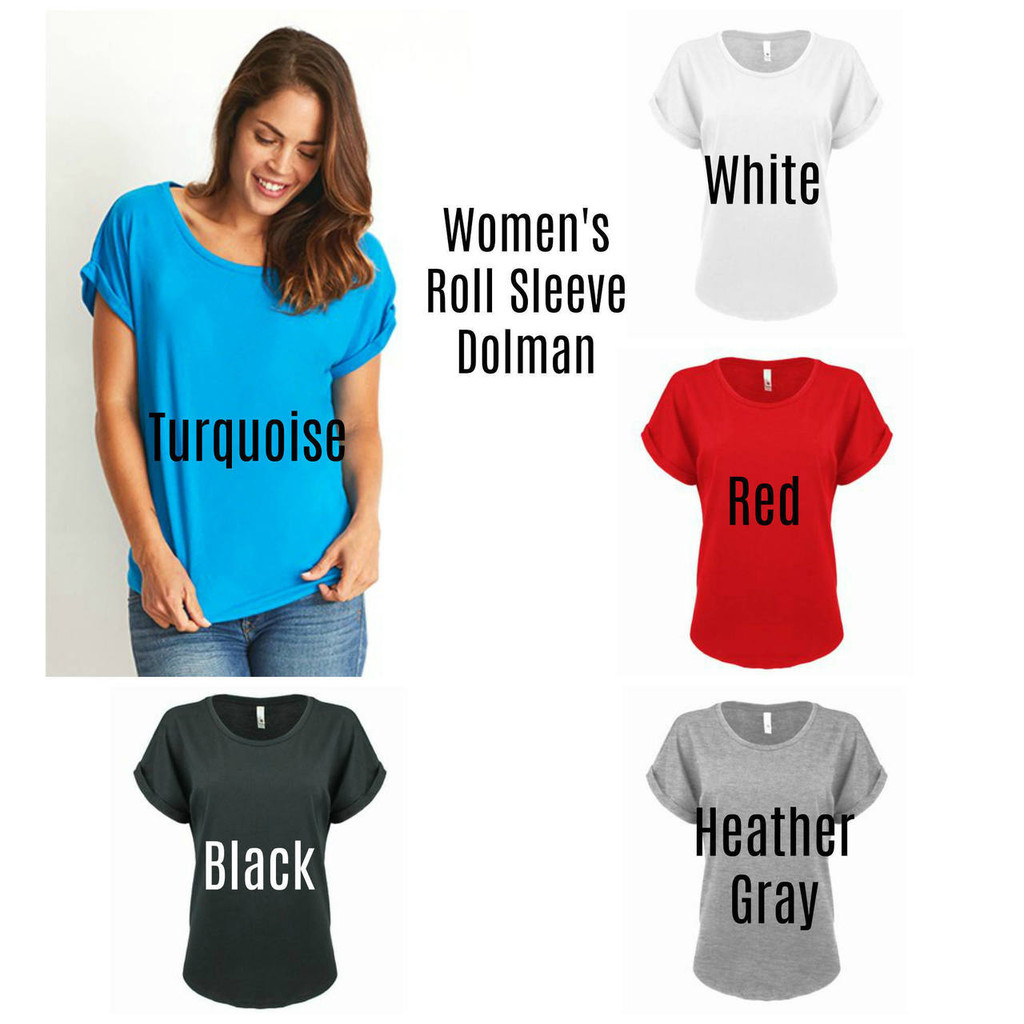 Blessed is she Dolman Shirt