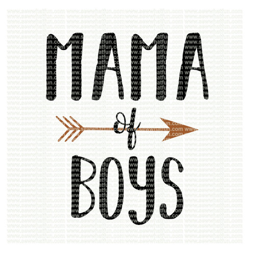 Mama of boys SVG