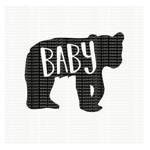 Baby Bear SVG