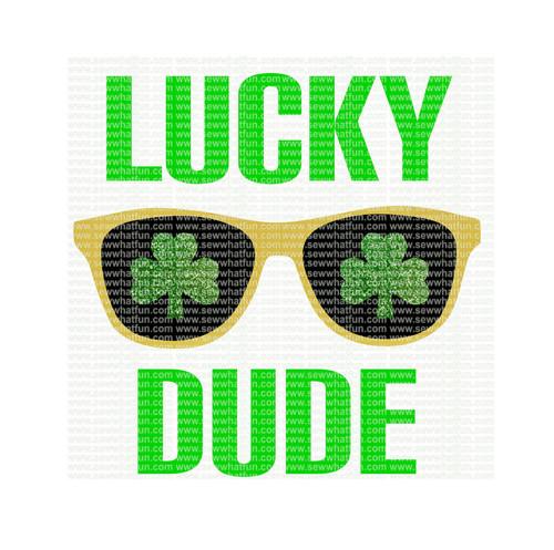 Lucky Dude SVG