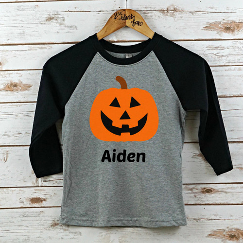 Youth Halloween Raglan
