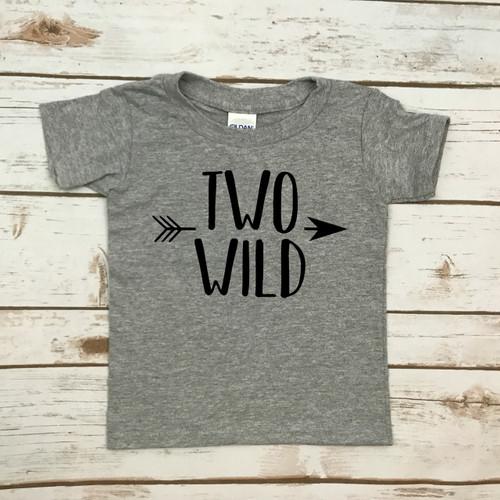 Two Wild Print Shirt