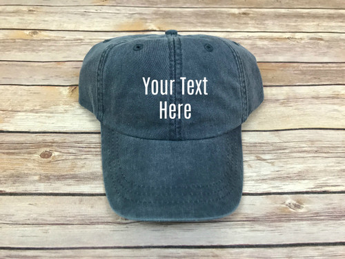 Custom Text Hat