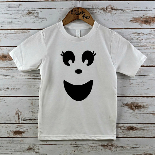 Girl Ghost Halloween shirt