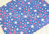 "20x34cm (7.8"" x 13.4""), Patriotic Synthetic Leather, Stars Fabric, July 4th Fabric Sheet, Holiday Print Leather, Leather Fabric, Faux Leather Fabric Sheet, Fabric, DIY Hair Bows, 1 Sheet"