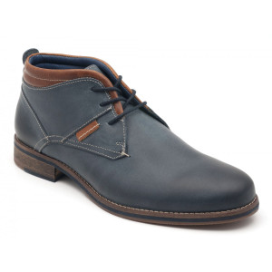 Parc City Boot Co. Central Boot in Navy