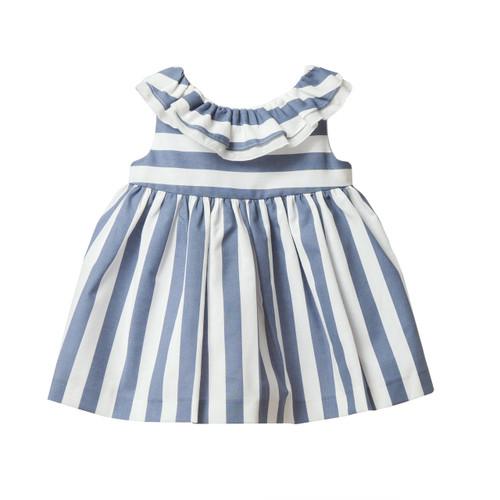 FINA EJERIQUE - SS17 | Dress Stripped | Blue & White