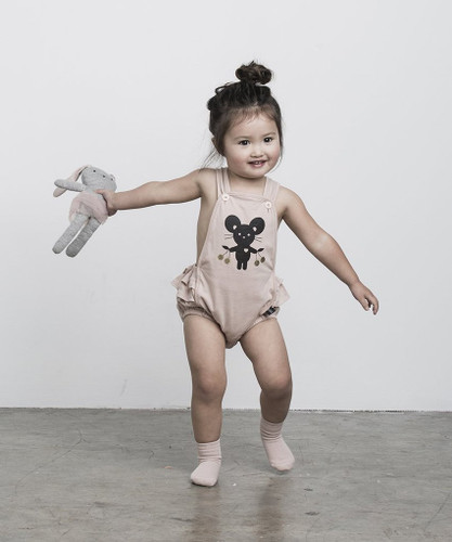 HUXBABY | MOUSE PLAYSUIT
