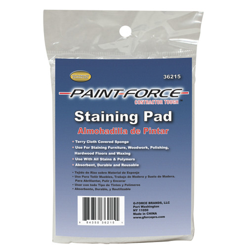 Paint-Force 36215 Terry Cloth Staining Pad