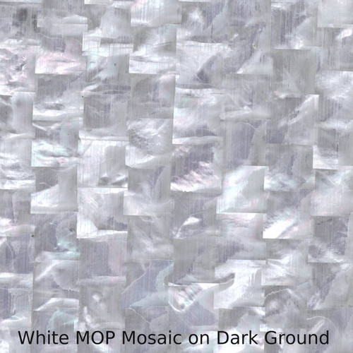 White MOP Mosaic
