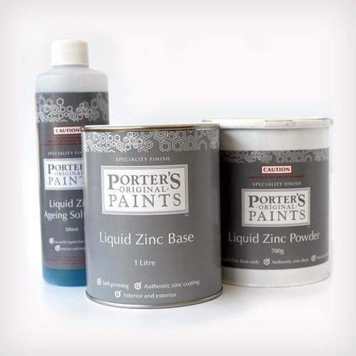 Sydney Harbour Liquid Zinc and Ageing Solution Kit