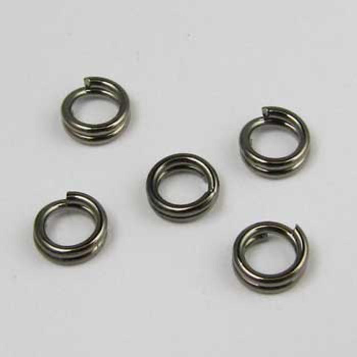 BLP005 - 5mm Split Ring, Gunmetal Plated (pkg of 50)