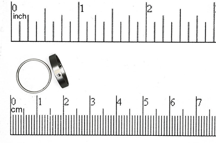 Satin Rhodium 13mm Round Bead Frame (Sold by the Piece)