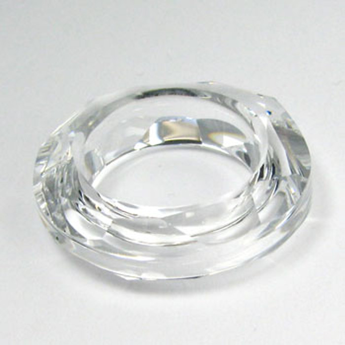 4139 - Swarovski Cosmic Ring Pendant 30mm, Clear