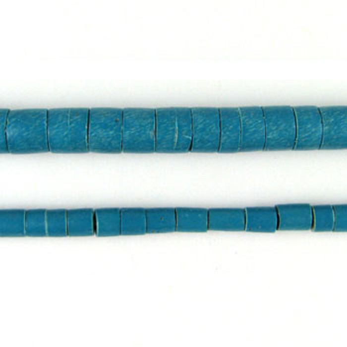 HB0017 - Phillipine Turquoise Heishi Beads (24 in. strand)