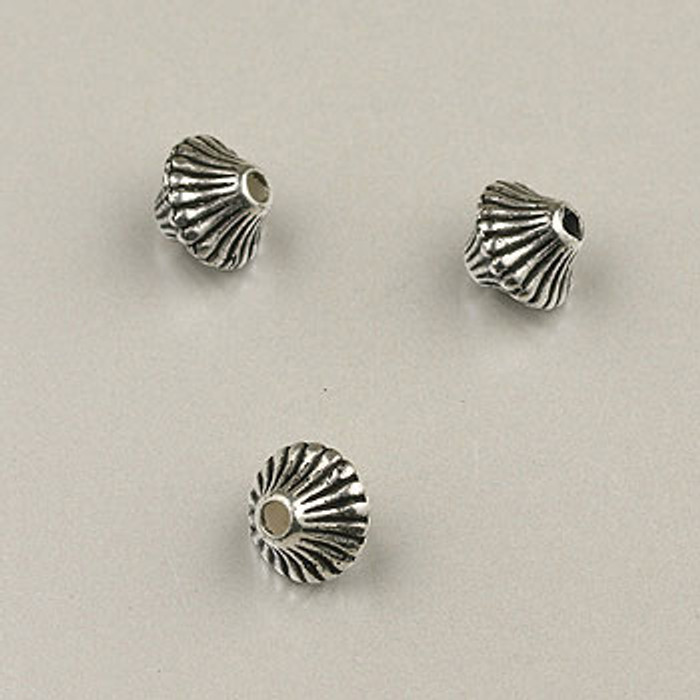 SP0044 - 6mm Mushroom Silver Plate (pkg of 200)