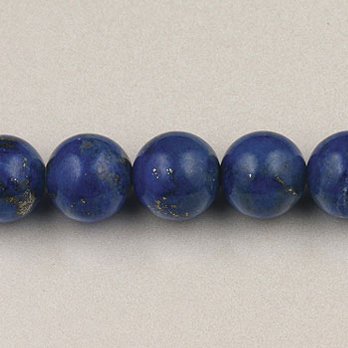 """SPS0046 - Lapis Lazuli, """"A"""" Quality,  4MM Round (16 in. strand)"""