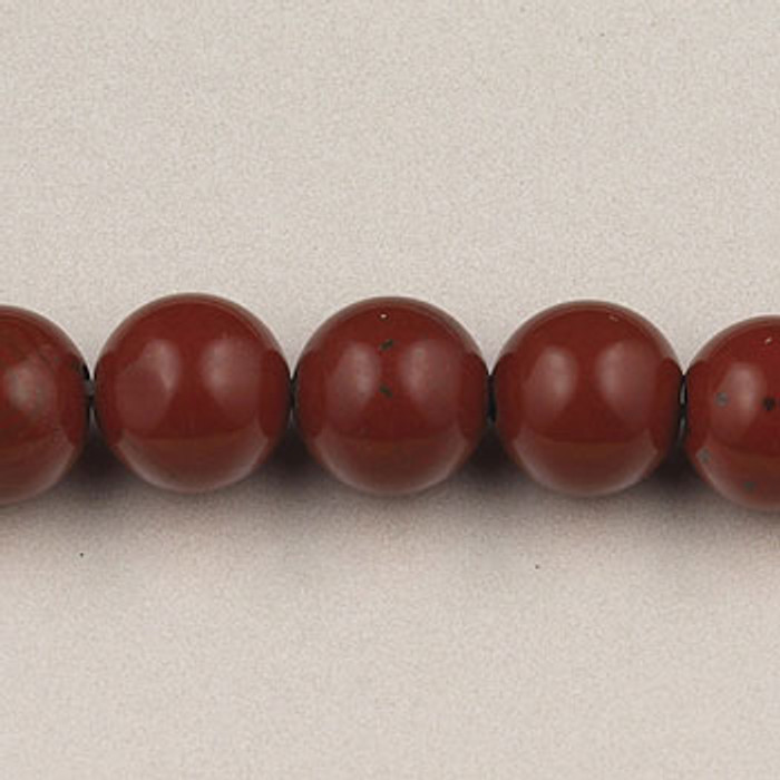 SPS0069 - Red Jasper, 4MM Round (16 in. strand)