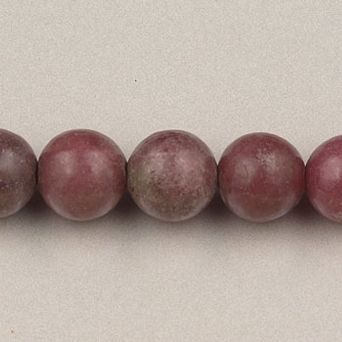 SPS0070 - Rhodonite, 4MM Round (16 in. strand)