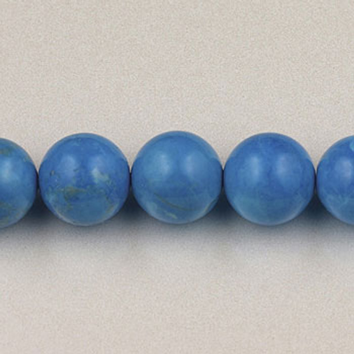 SPS0092 - Turquoise Howlite, 4MM Round (16 in. strand)