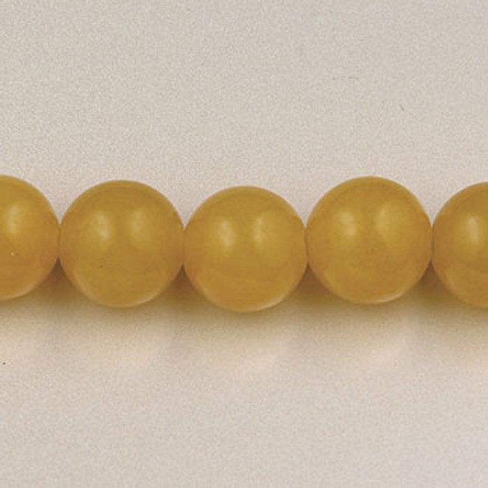 SPS0096 - Yellow Jade, 4MM Round (16 in. strand)