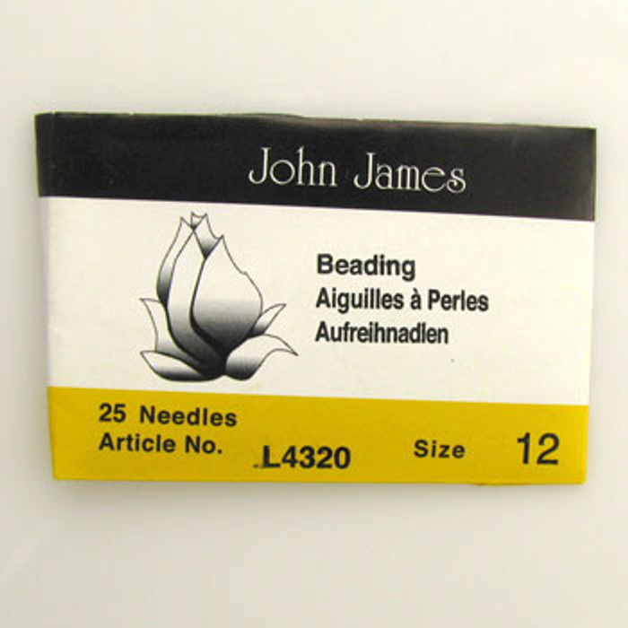 TO0017 - Size 12 Needle, John James (pkg of 25)