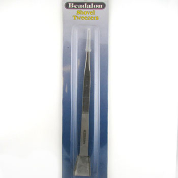 TO0030 - Shovel Tweezers, Beadalon (each)