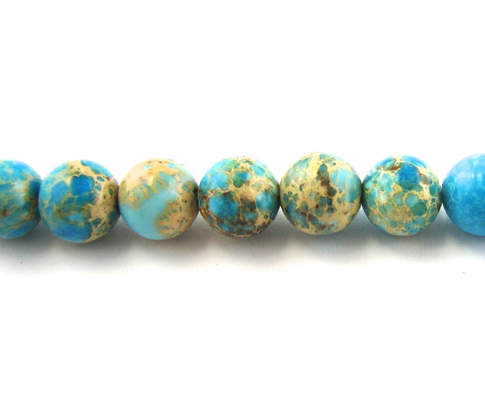 SPS0005 - Impression Jasper, 4mm Round (16 in. strand)