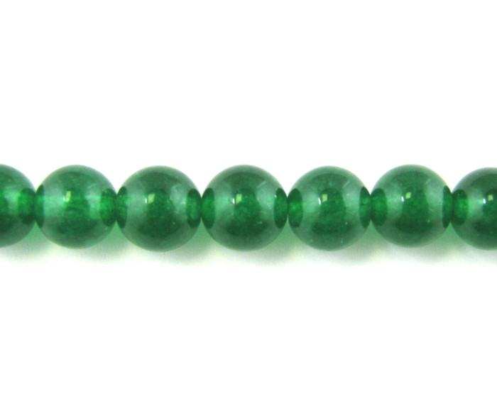 SPS0006 - Green Jade Quartz, 4mm Round (16 in. strand)