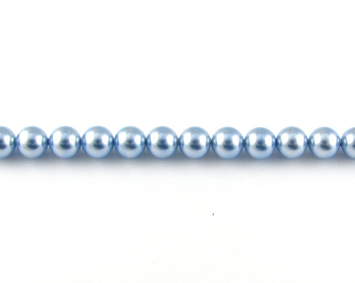 SWP010 - Light Blue Swarovski Pearls